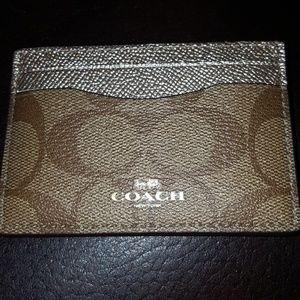 🛍Brand New! Coach Card Case!