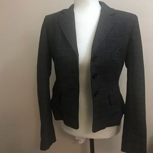 ANNE KLEIN Jacket Gray Style Suiting Career 6P