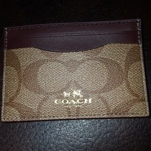 🛍Brand New Coach Card Case!