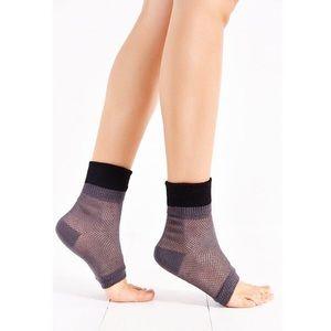 🆕 UO Colorblock Mesh open toe sock in gray