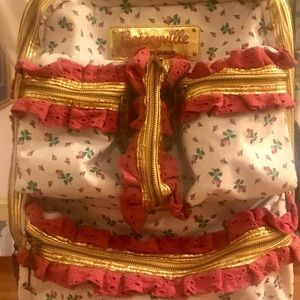 Betsy Johnson collectors item rare roller luggage