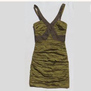 BCBG MaxAzria Women's Dress SIMSOM PERIDOT SZ 8