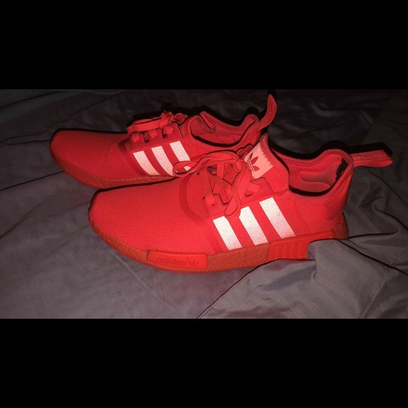 online store 2835d b8a80 Triple Red NMDs