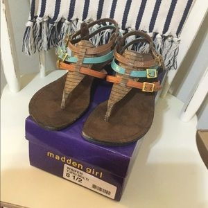Madden Girl Sandals size 8.5