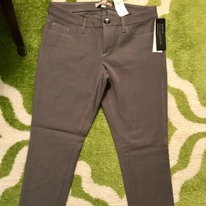 Banana Republic Gray Sloan Skinny Pants 26P NWT