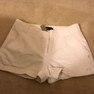Jcrew White Chico Shorts, Size 4