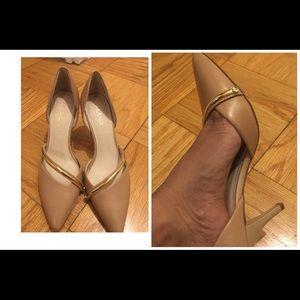 womens size 8 nude heel
