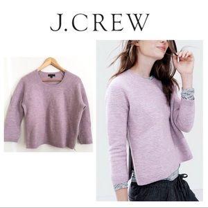 New Listing* JCrew Merino Wool Side Zip Sweater