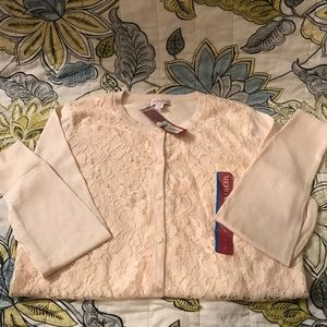 Women's sweater peach