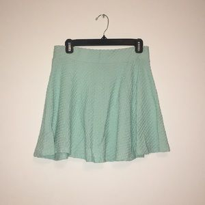 H&M Bright Blue Skater Skirt