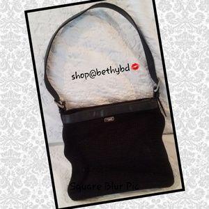 🆕JUST ADDED➡️ Black Shoulder bag by The Sak (EUC)