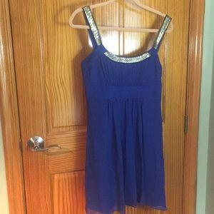 Beautiful Elegant Blue Dress