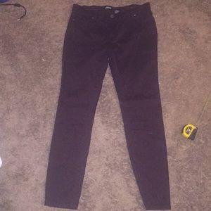 Buffalo burgundy skinny jeans