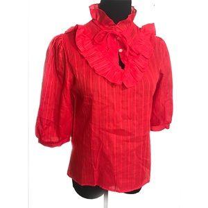 Cute vintage boho blouse top
