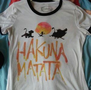 "Disney's The Lion King ""Hakuna Matata"" Tshirt"