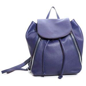 Rebecca Minkoff Bryn Eclipse Blue Leather Backpack