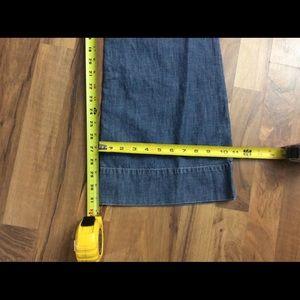 White House Black Market Jeans - WHBM Size 2 Blanc Flare Leg Blue Jeans