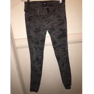 Hudson Army Print jeans-size 26