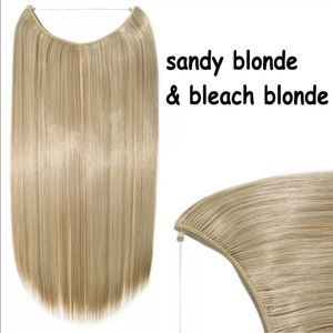 """26"""" - 28"""" Straight Invisible Wire Hair Extensions"""