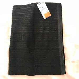 Bandage black skirt from Zara