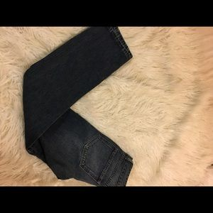 Burberry pocketed denim