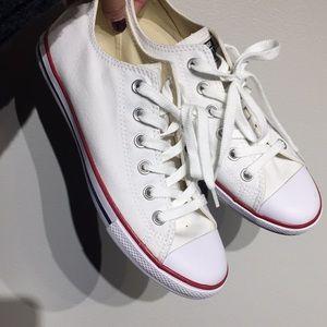 Women's size 7.5 White Converse
