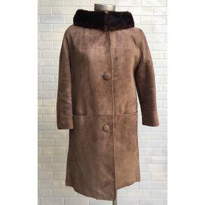 Vintage Fur & Suede Coat