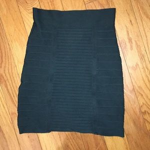 BCBG Bandage skirt in jade green