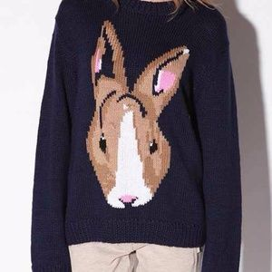 PJ By Peter Jensen Urban Outfitters Bunny Sweater