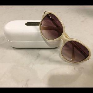 Chloe ivory bone round Sunglasses