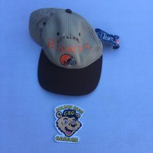 NWT Vintage Browns Drew Pearson Snapback Hat