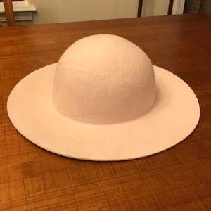 Floppy Nude/Pink Felt Hat
