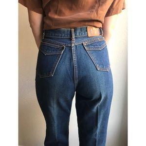 [vintage] 1970s Brittania high waist jeans