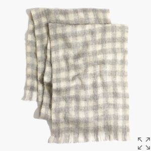 Madewell Brushed Buffalo Check Scarf