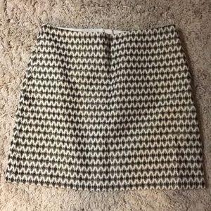 LOFT Jaquard Skirt