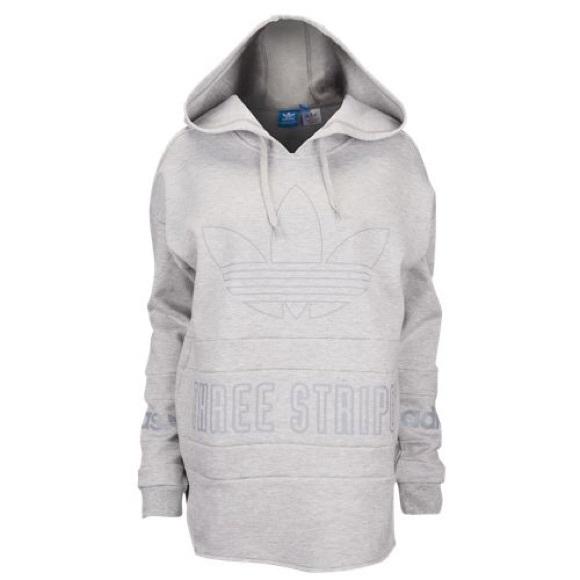 Adidas Limited Edition Grey Hoodie