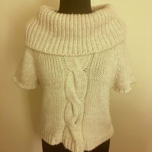 THE LIMITED Chunky Cropped Cowl Neck Sweater