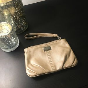 Gold bag from express