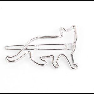 (2) cute cat hair clip 😸😸
