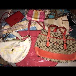 7 Coach purse bundle