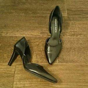 Franco Sarto L-Arrow Black heel