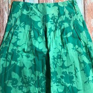 Ann Taylor Cotton Floral Skirt - 6