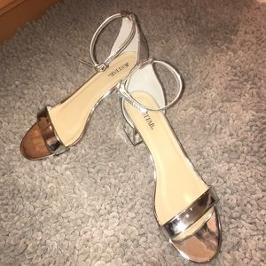 Justfab block heels
