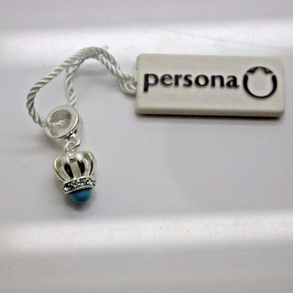Persona Charm Bracelet: PERSONA CROWN OF TURQUOISE