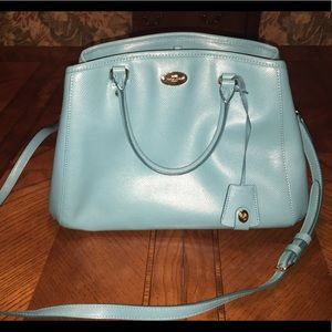 **HOTT Turquoise Coach Bag