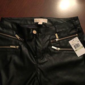 Michael Kors lather pants