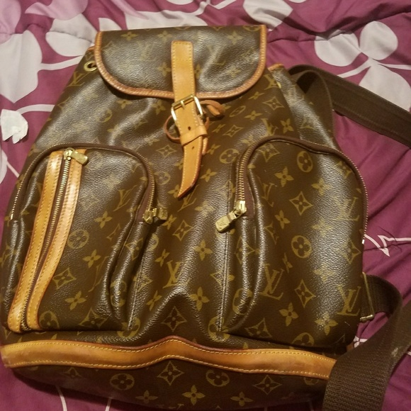 64c3b22a63dc Louis Vuitton Handbags - Louis Vuitton Backpack Bosphore Monogram Brown