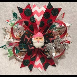 Other - Santa Hair Bow