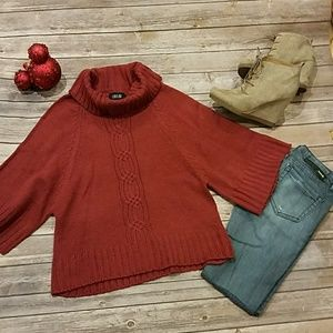 LouLou Red oversized Sweater Sz L