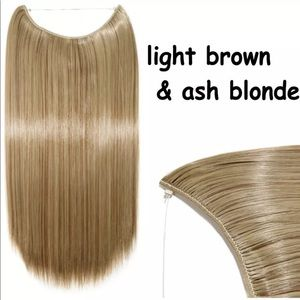 """26"""" - 28"""" Transparent Wire Straight Extensions"""